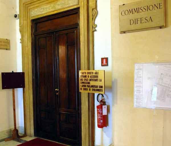 Al via esame della proposta di legge su controllo delle for Commissione difesa camera