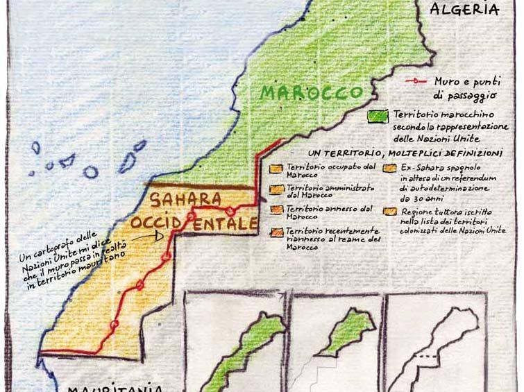 Cartina Politica Del Marocco.Soluzione Del Conflitto Nel Sahara Occidentale Elena Carnevali
